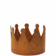 Metal crown Leo, diameter 25cm, height 18cm